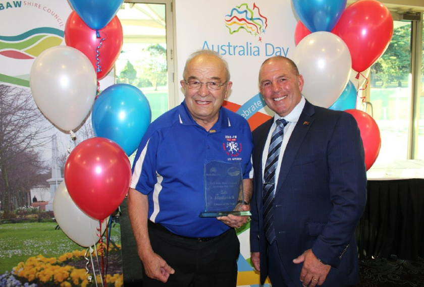Les Matkovich named Baw Baw Shire Citizen of the Year 2017